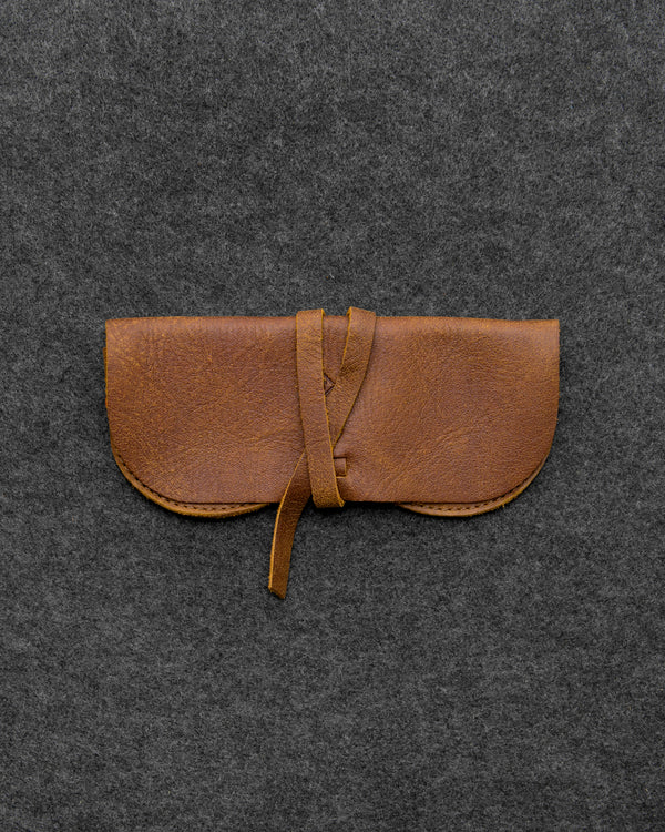 Yukon Leather Wrap Around Glasses Case By Tumble And Hide