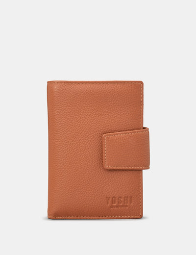 Tan Leather Anson Purse - Yoshi