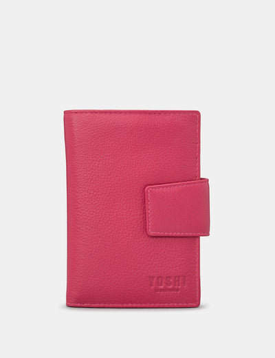 Raspberry Leather Anson Purse - Yoshi