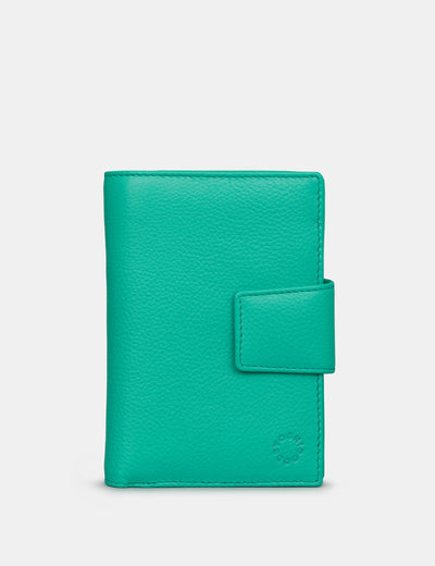Jade Green Leather Anson Purse - Yoshi