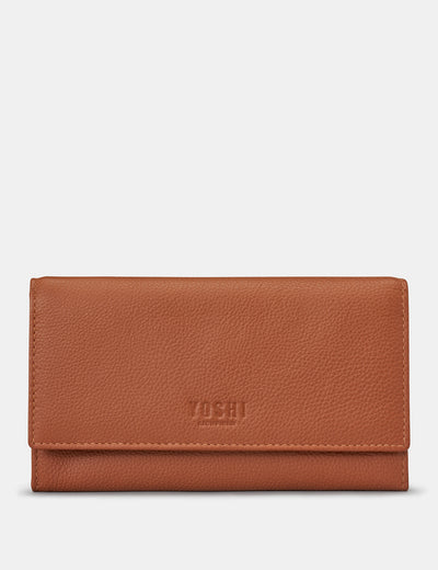 Tan Leather Hudson Purse - Yoshi