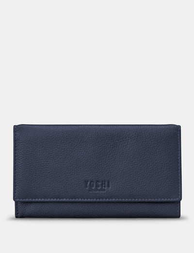 Navy Leather Hudson Purse - Yoshi