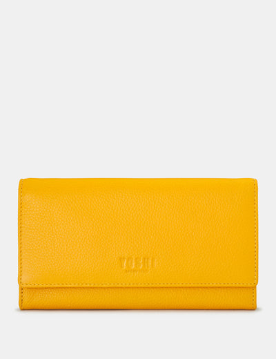 Yellow Leather Hudson Purse - Yoshi