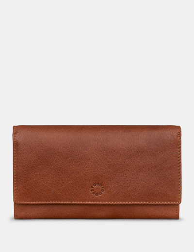 Brown Leather Hudson Purse - Yoshi