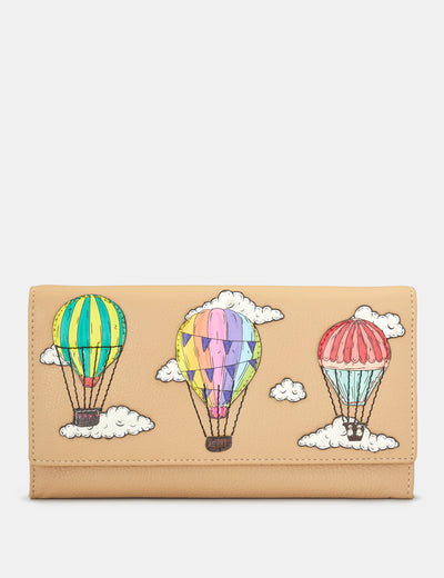 Amongst The Clouds Leather Hudson Purse - Yoshi