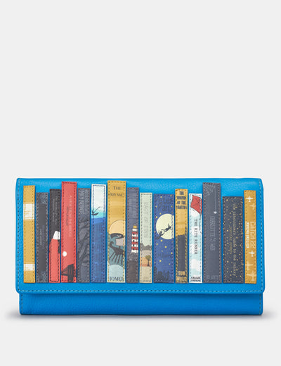 Bookworm Cobalt Blue Leather Hudson Purse - Yoshi