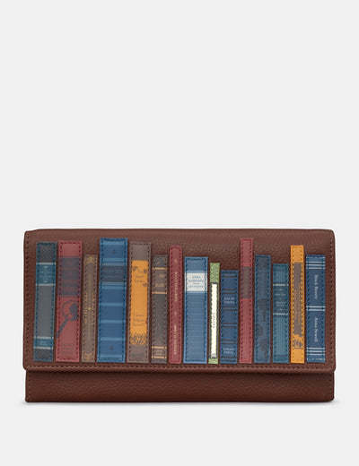 Bookworm Brown Leather Hudson Purse - Yoshi
