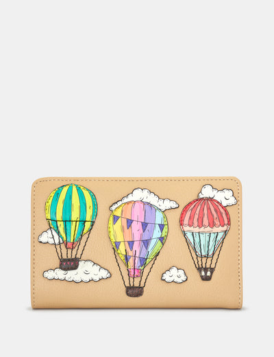Amongst The Clouds Leather Oxford Purse - Yoshi