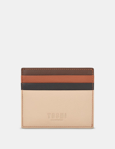 Frappe Multi Leather Wooster Card Holder - Yoshi