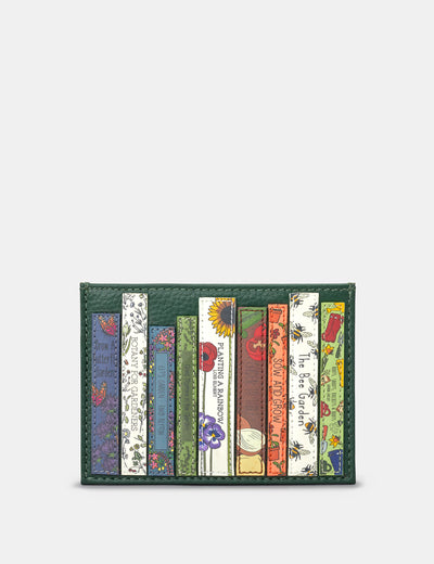 Green Fingers Bookworm Leather Academy Card Holder - Yoshi