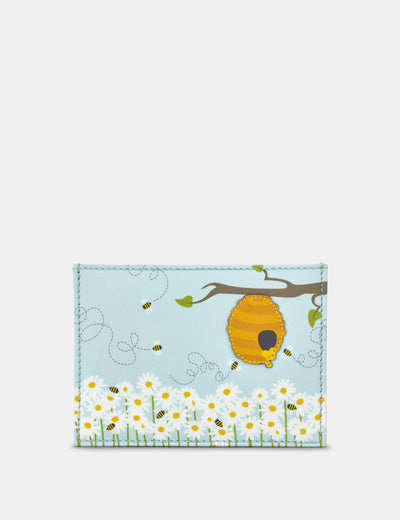 Leather Honey Bee Academy Card Holder - Yoshi
