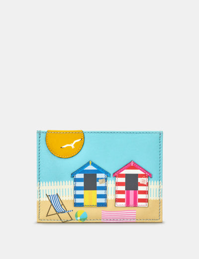Beach Hut Leather Academy Card Holder - Yoshi
