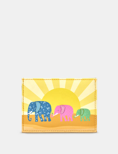 Elephant Family Leather Academy Card Holder - Yoshi