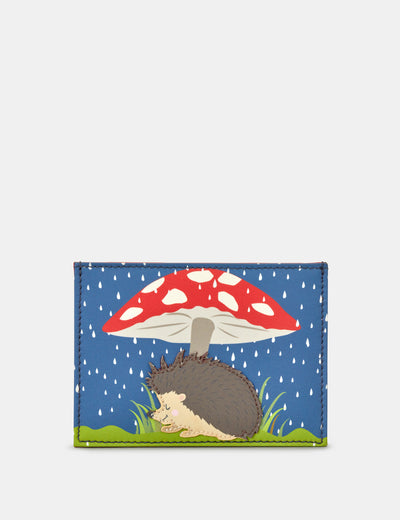 Leather Hattie The Hedgehog Academy Card Holder - Yoshi