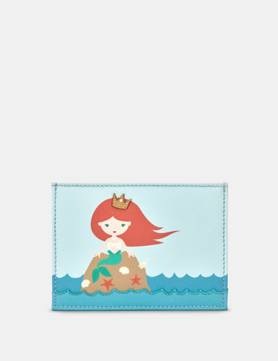 Leather Mermaid Academy Card Holder - Yoshi
