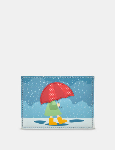Umbrella Leather Academy Card Holder - Yoshi