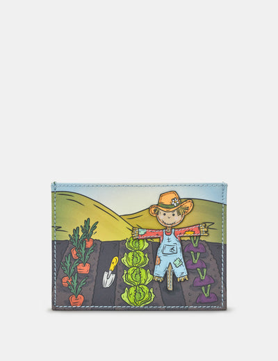 Scarecrow Leather Academy Card Holder - Yoshi