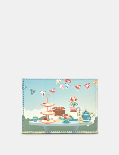 Afternoon Tea Party Leather Academy Card Holder - Yoshi
