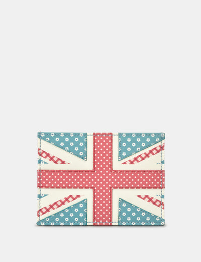 Union Jack Leather Academy Card Holder - Yoshi