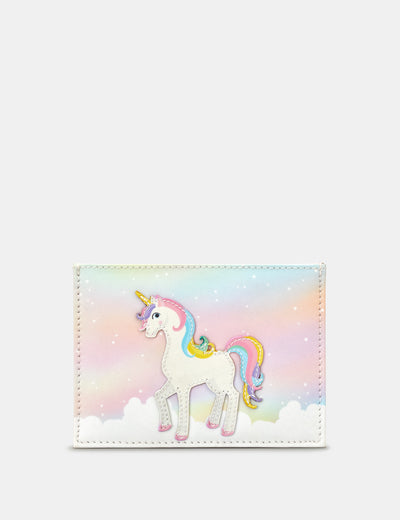Ophelia The Unicorn Leather Academy Card Holder - Yoshi