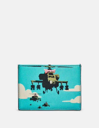 Banksy Apache Leather Card Holder - Yoshi