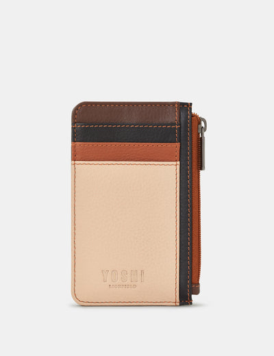 Frappe Multi Leather Morton Card Holder - Yoshi
