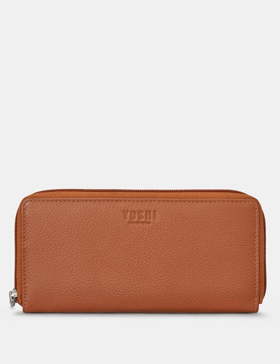 Tan Leather Baxter Purse - Yoshi
