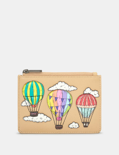 Amongst The Clouds Leather Franklin Purse - Yoshi