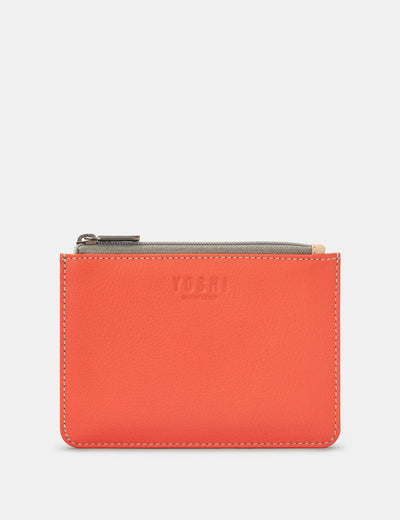 Coral Multi Leather Franklin Purse - Yoshi
