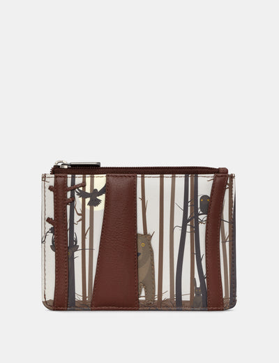 Into the Wild Brown Leather Franklin Purse - Yoshi