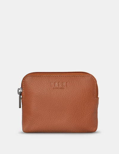 Tan Leather Chatham Purse - Yoshi