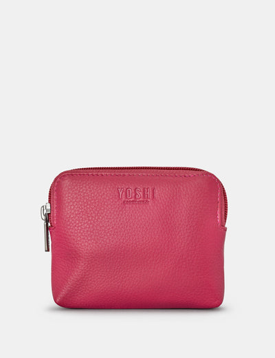 Raspberry Leather Chatham Purse - Yoshi