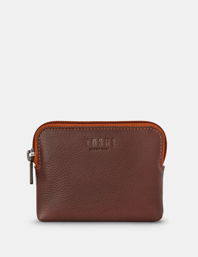 Brown Multi Leather Chatham Purse - Yoshi