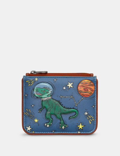 Lost in Space Zip Top Leather Purse - Yoshi