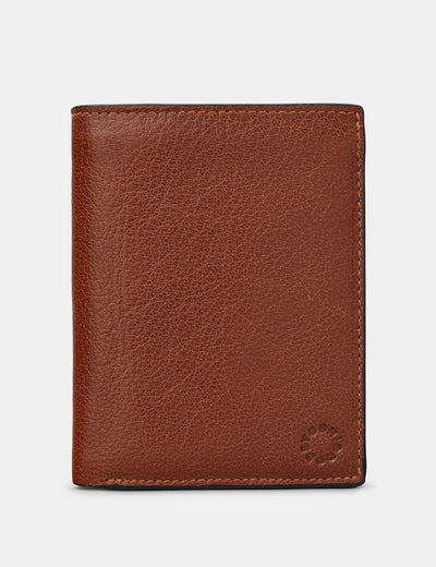 Extra Capacity Traditional Brown Leather Wallet - Yoshi