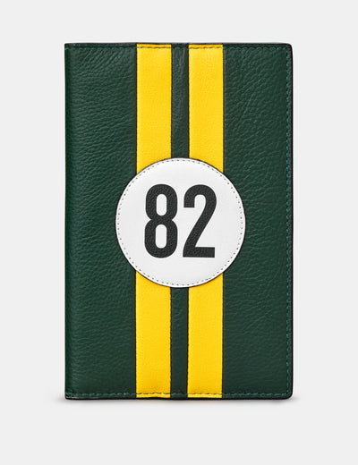 Car Livery #82 Leather Golf Scorecard Holder - Yoshi