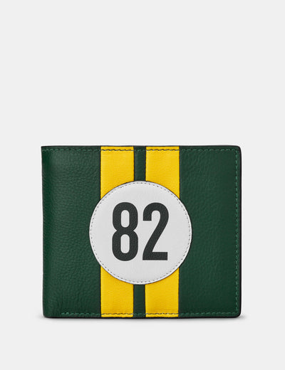 Car Livery #82 Leather Wallet - Yoshi