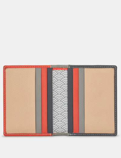 Coral Multi Leather Steinway Card Holder - Yoshi