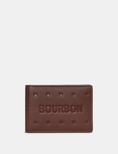Bourbon Biscuit Leather Travel Pass Holder - Yoshi