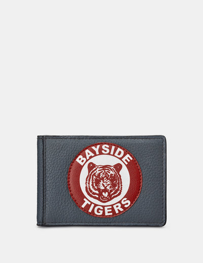 Bayside Tigers Grey Leather Travel Pass Holder - Yoshi