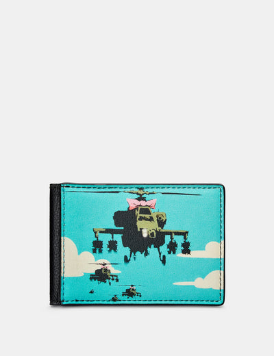 Banksy Apache Leather Travel Pass Holder - Yoshi