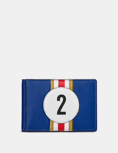 Car Livery #2 Blue Leather Travel Pass Holder - Yoshi
