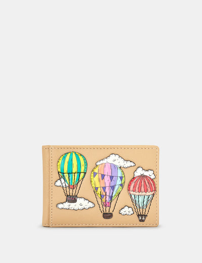 Amongst The Clouds Leather Travel Pass Holder - Yoshi