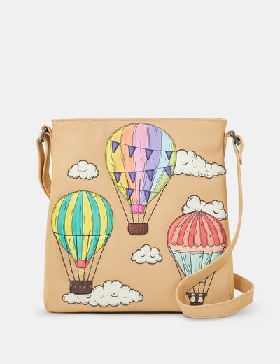 Amongst The Clouds Leather Bryant Cross Body Bag - Yoshi