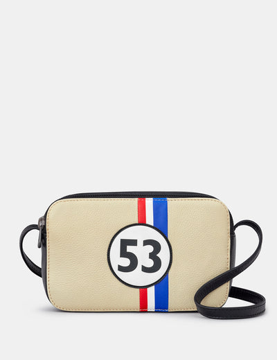 Car Livery #53 Leather Porter Cross Body Bag - Yoshi