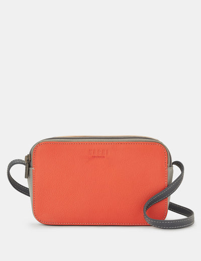 Porter Coral Multi Leather Cross Body Bag - Yoshi