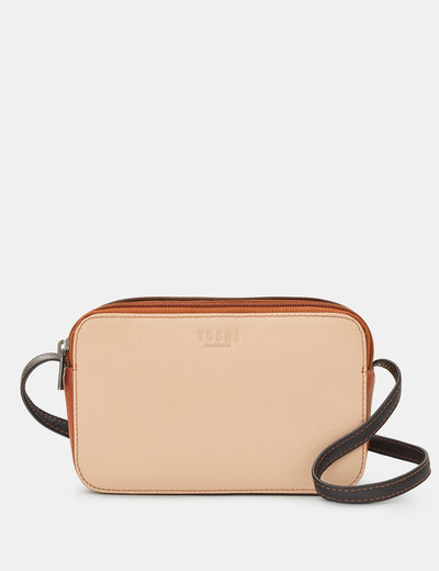 Porter Frappe Multi Leather Cross Body Bag - Yoshi