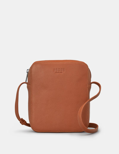 Dylan Tan Leather Cross Body Bag - Yoshi