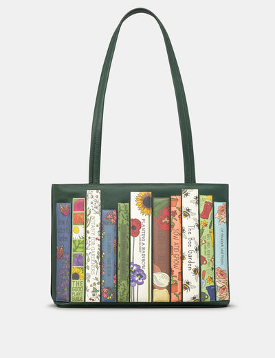 Green Fingers Bookworm Leather Shoulder Bag - Yoshi