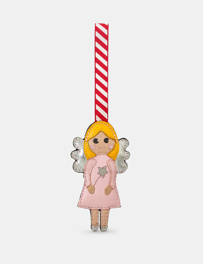 Fairy Princess Pink Leather Christmas Tree Decoration - Yoshi